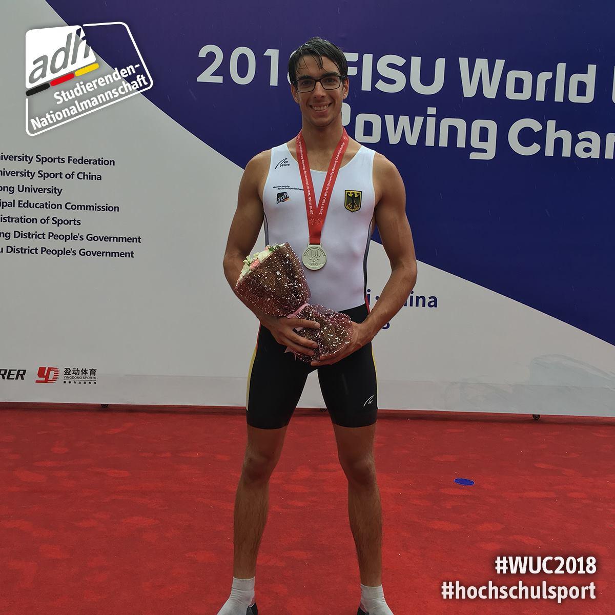 World University Championships: Joachim schlägt wieder zu
